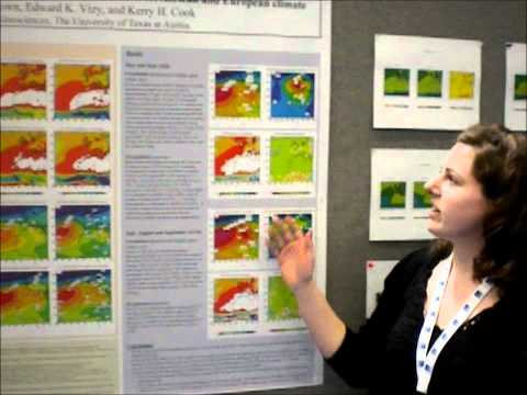 Combined Effects of Global Warming and an AMOC Shutdown on West African and European Climate