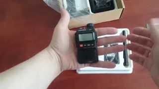 распаковка Baofeng UV-3R Не работает PTT