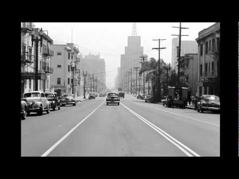 A Drive Through Bunker Hill and Downtown Los Angeles, ca. 1940s