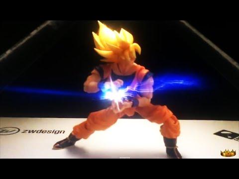 DBZ Z Super Saiyan Goku Kamehameha Hologram