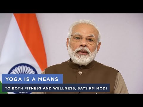 Yoga is a means to both fitness and wellness, says PM Modi