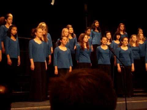 """""""River Sleeps Beneath the Sky"""" by Thomas S. Hart Middle School's Treble Choir"""