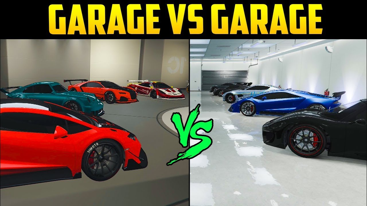 Gta Online Garage Vs 4 Edition Best Looking Car Compeion