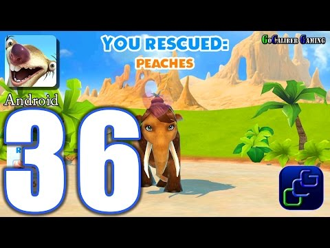 ICE AGE Adventures Android Walkthrough - Part 36 - Sandchester Island Peaches