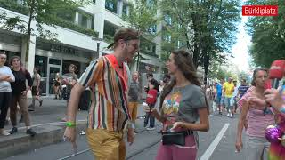 Live von der Street Parade 2019