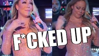 Mariah Carey Messes Up During New Year's Rockin' Eve Performance