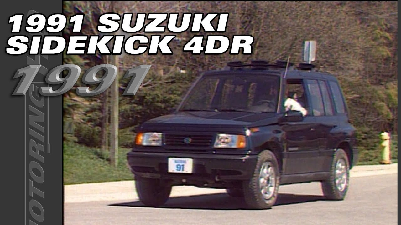 The 1991 Suzuki Sidekick 4 Door