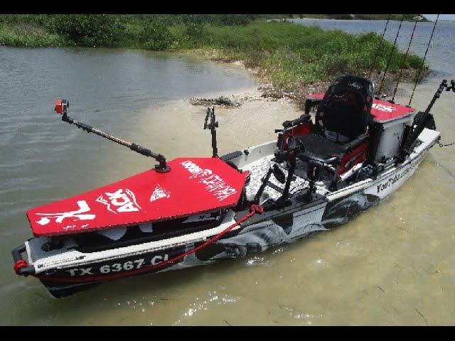 Kayak casting and poling platform clip fail for Fissot fishing kayak