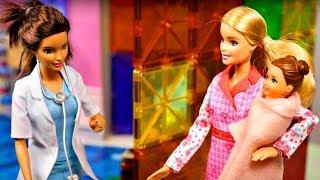 Barbie baby doll videos - Barbie doctor & Barbie baby.