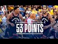 Kawhi Leonard and Kyle Lowry Combine for 53 Points | NBA Finals Game 3