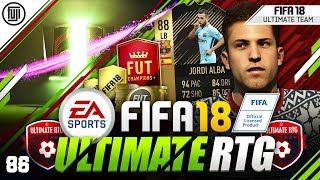 FREE PTG CARDS!!! FIFA 18 ULTIMATE ROAD TO GLORY! #86 - #FIFA18 Ultimate Team