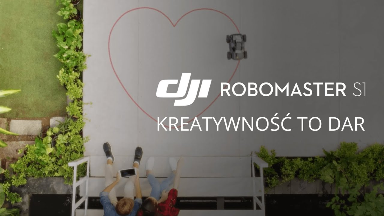 DJI RoboMaster S1 - Kreatywność to dar (PL) DJI ARS
