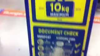 Ryanair Handgepäck Schablone, Boardcase Hand luggage