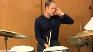 Bill Stewart soloing over the groove on Jon Gordon's SHAPE UP