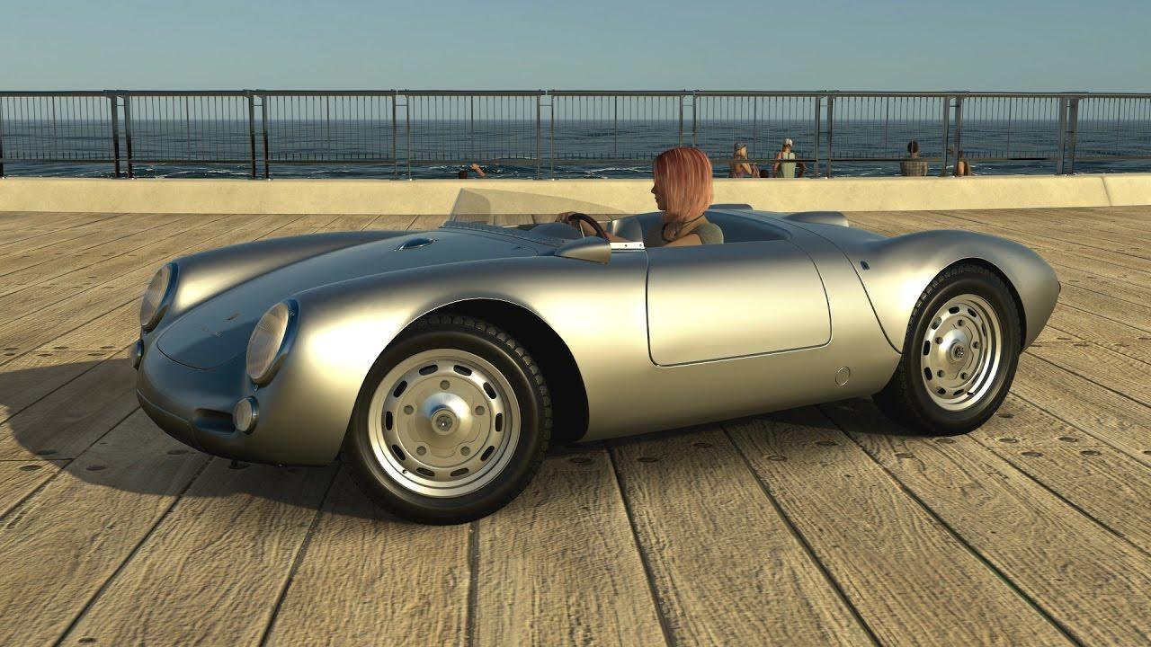 Forza Horizon 3 1955 Porsche 550 Spyder Youtube