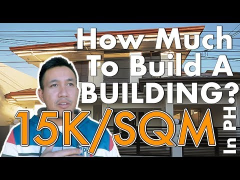 How Much to Build a Building in the Philippines? 15K per SQM?
