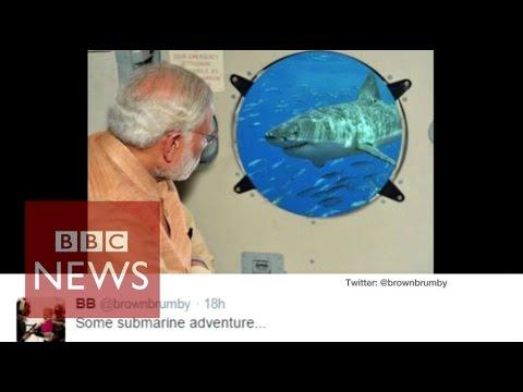 Chennai floods: Narendra Modi edited flood photo gets mocked online  - BBC News