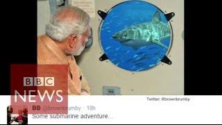 Chennai floods: Narendra Modi edited flood photo gets mocked online  - BBC News