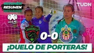 Resumen | FC Juárez 0 - 0 Chivas | Liga MX Femenil - CL 2020 J2 | TUDN