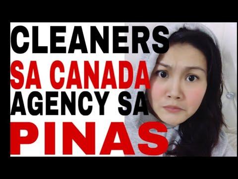 SAHOD NG CLEANERS SA CANADA ( AGENCY SA PINAS )