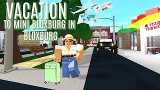 MINI BLOXBURG IN BLOXBURG VACATION!!! IIRoblox Bloxburg