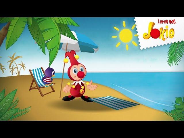 Spelen op het strand - Leren met Jokie - Efteling