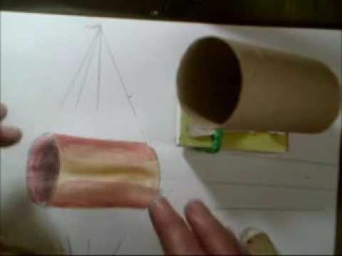 Comment dessiner en perspective 8 20 cylindre en 3d sur - Comment dessiner un meuble en perspective ...