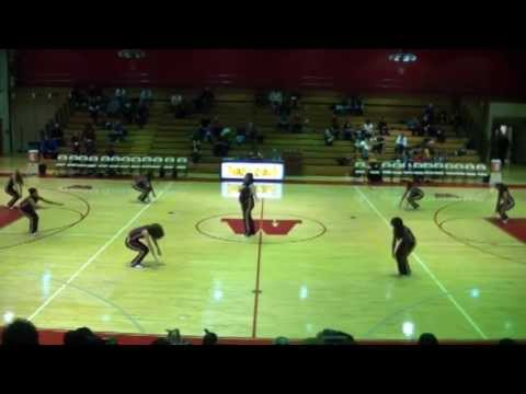 Westmont High School Dance Team Halftime Performance 11-28-12