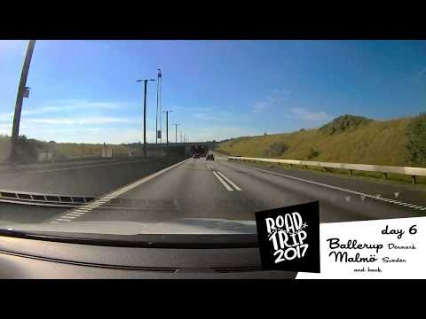 Road Trip 2017 - day 6 - Ballerup (Denmark) to Malmö (Sweden) and back