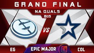 EG vs coL Grand Final NA EPICENTER Major 2019 Highlights Dota 2