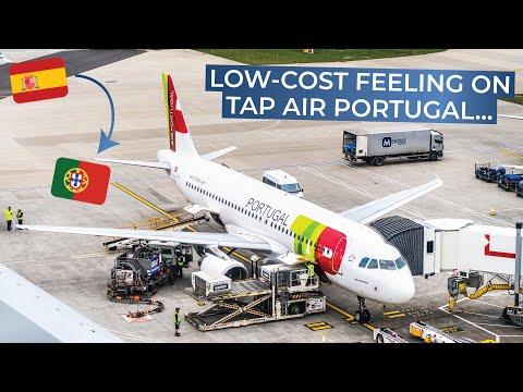 TRIPREPORT | TAP Portugal (ECONOMY) | Madrid - Lisbon | Airbus A320