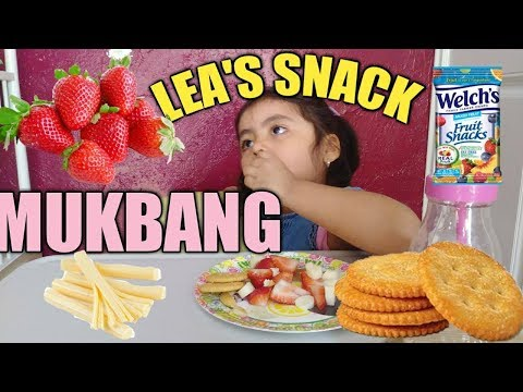 THREE YEAR OLD| SNACK MUKBANG | EATING SHOW