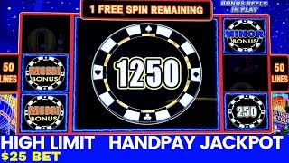 Скачать High Limit LIGHTING LINK Slot Machine 25 Bet HANDPAY JACKPOT High Limit Slot Machine Jackpot Won