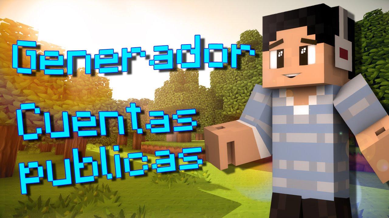 Generador cuentas premium minecraft diciembre 2015 funnydog tv
