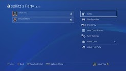 How to Use Party Chat on PS4