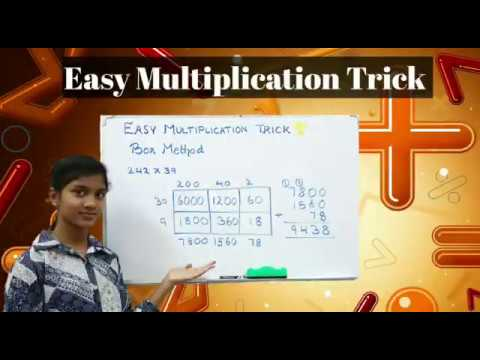 Easy Multiplication Trick (Box Method)