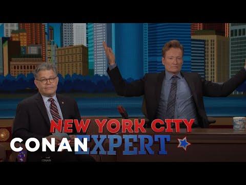 Senator Al Franken Gives Conan The NYC Citizenship Test  - CONAN on TBS