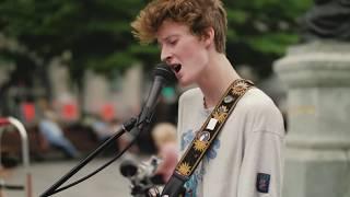 Nicholas Cangiano - Dreams (Fleetwood Mac Cover) Live Looping Street Performance