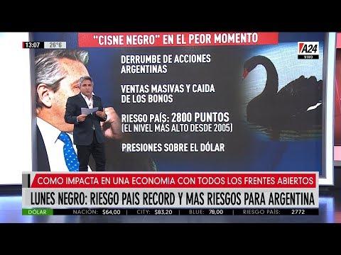 Cisne negro en el peor momento para la economía argentina