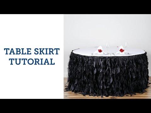 Table Skirt Tutorial | BalsaCircle.com