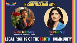 Legal Rights of LGBTQ+ Community by Dr. Menaka Guruswamy and Ms. Arundhati Katju.