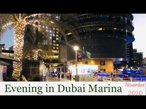 DUBAI 2020 Live video Vlog Dubai Marina November 2020 Virtual tour today