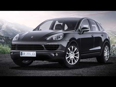 CGI car - post production 3D step by step - Porsche Cayenne