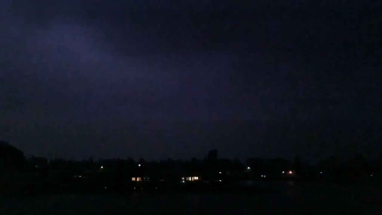 A rare Thunderstorm show over the lake in W Washington 9/6/19