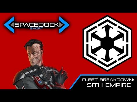 Star Wars: Fleet Breakdown - The Sith Empire (Legends) - Spacedock
