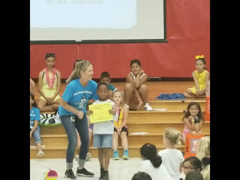 Ayden Arch Kinder Leader of the Year Award