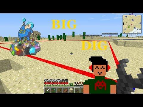 Minecraft : Big Dig - Bölüm 1 : Quarry İçin Gerekli Malzemeler