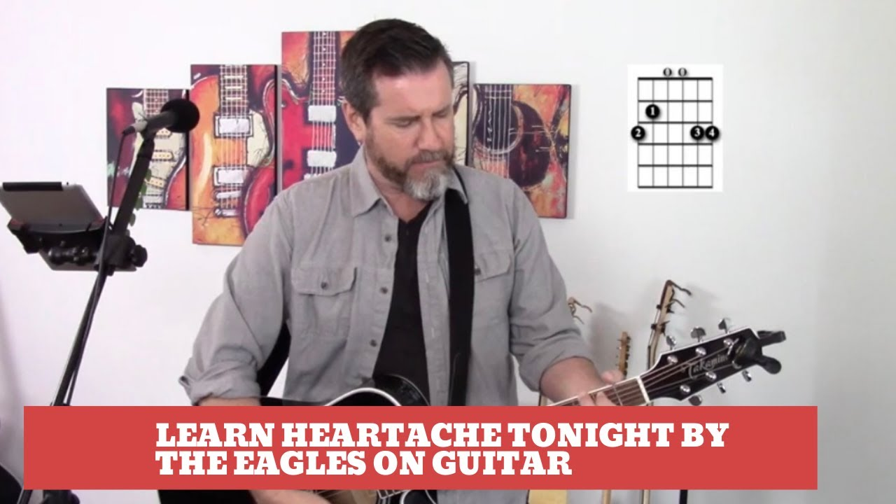 How to play Heartache Tonight by The Eagles on Guitar (Easy Guitar Tutorial and Cover) - YouTube