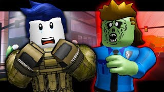 THE LAST GUEST - OFFICER ROOFUS BECOMES A ZOMBIE! ( A Roblox Jailbreak Roleplay Story)