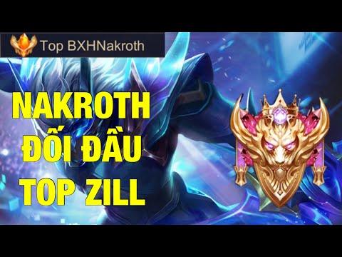 Top Nakroth Mùa 14 Hướng Dẫn Nakroth Đối Đầu Vs Zill Trên Rank Cao Thủ 12 Sao Sẽ NTN ?